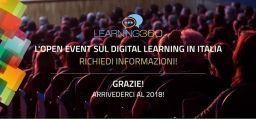 LEARNING 360: il primo Open Event sul Digital Learning in Italia