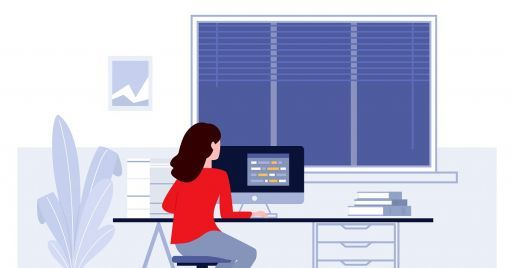 How to combine smart working with online training