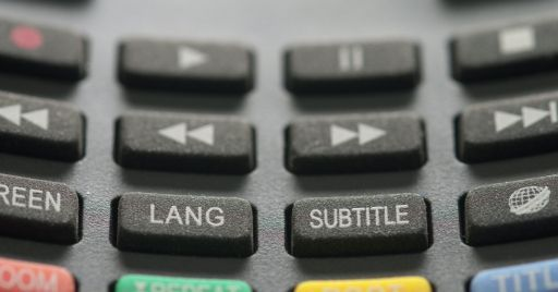 Why include subtitles in an online course?