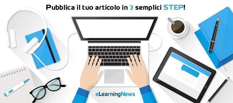 Pubblica il tuo articolo in 3 step